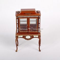 Miniature Furniture Display Cabinet with Stand