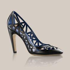 Mosaic pump in glazed calf - Louis Vuitton - LOUISVUITTON.COM