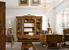 Office interior design ideas pictures and inspiration Office Furniture Design, Office Interior Design, Luxury Interior Design, Office Interiors, Interior And Exterior, Office Decor, Belton House, Harewood House, Rococo Furniture