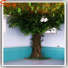 Source artificial greenery fiberglass ficus microcarpa trees artificial oak tree branches for weddings decoration on Artificial Tree Branches, Artificial Plants And Trees, Fake Trees, Indoor Trees, Paper Mache Tree, Paper Tree, Classroom Tree, Ficus Microcarpa, Reading Tree