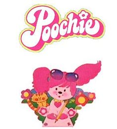 I forgot all about Poochie. I had a pink hard case shoulder purse with this image on it. It came with a set of Poochie things to put inside. Wonder if I still have it...