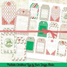 Easy to print tags to add to homemade body scrubs, mason jar gifts and diy Christmas gifts.Thank you tags, Christmas Gift Tags, Holiday Hang Tags, Reindeer Gift Tags, Party Favor Tags, #15175
