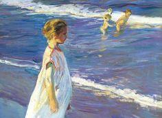 Esquifs à la Mer - Georges LAPCHINE (1885-1931) artite russe célèbre