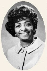 Dr. Elizabeth Duncan Koontz, the first African American president of the National Education Association, and a member of Zeta Phi Beta Sorority.