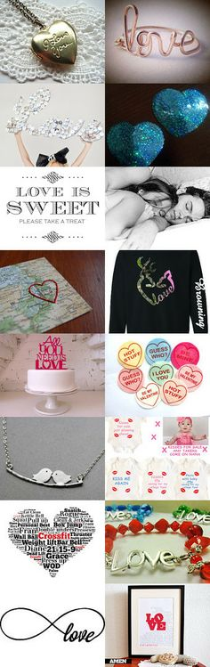 Love makes the world go round..... by TheDaintyBoutique on Etsy--Pinned with TreasuryPin.com