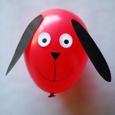 Free Balloon Animals Dog Template