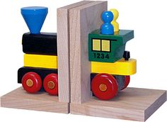 Bookends, My Train Engine Enhance any train enthusiast's room with a set of MY Train Bookends. $40.00