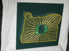 Oregon Ducks String Art