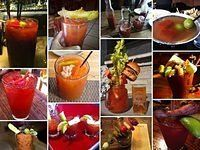 15 Over the Top Bloody Marys - 1 right here in Milwaukee!