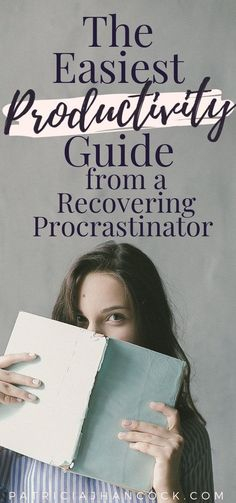 The easiest, fastest guide to boost your productivity to reach your goals, told by a recovering procrastinator. Productivity is difficult especially when you're not able to plug it into your daily life. Here, we'll go over ways to boost your productivity immediately and have your goals reached in no time! #productivity #planning #timemanagement