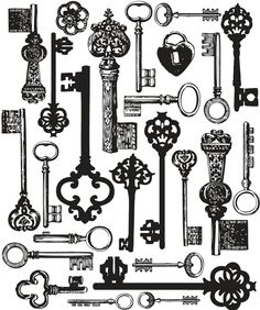 old keys/chaves antigas