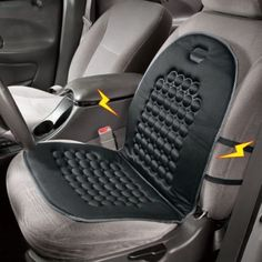 Car Chair Office Chair Cushion Massage Therapy Padded Seat Black New