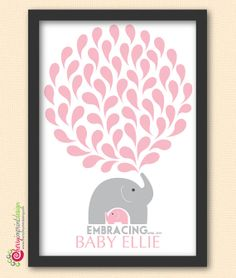 Unique Personalized Printable Baby Shower by CherryImprintDesign, $21.98