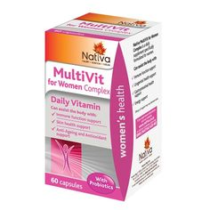 nativa multivitamin for women 60's