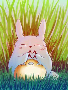 Totoro love by Lyrin-83 on DeviantArt