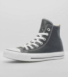 85dd671391e707 Converse All Star Hi Leather Black Converse