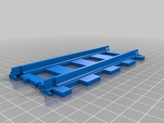 LEGO TRAINS COMPATIBLE CROSS TRACK 4519 3D PRINTED