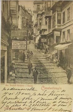 Galata, İstanbul 1901