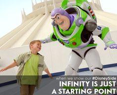 To infinity...and beyond! #DisneySide