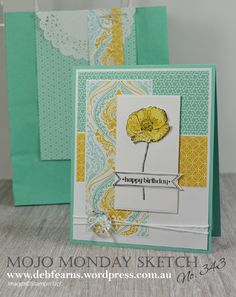 Mojo Monday 343 Sketch Challenge by Deb Fearns