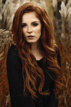 Wunderschöne rote Haare