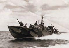WWII PT Boats | pt 594 cruises off samar pi