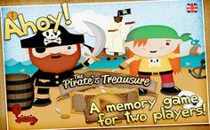 App infantil El tesoro del pirata