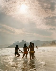 Photos: Rio de Janeiro's Sights, Street Life, and Architecture In the surf on Ipanema Beach. Best Places To Travel, Places To Visit, Beach Tumblr, Rio Brazil, Brazil Travel, Island Life, Adventure Awaits, Vacation Spots, Street Photography