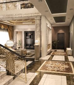 Hani al Fareed, The Calif's, stunning house of horrors in Dubai where he tortures Jesse.