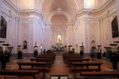 La chiesa dell'Addolorata a Sorrento. I was in this gem of a church in Italy and it literally took my breath away.