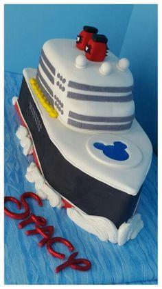 cruise ship cake Cruise ships Cake and Retirement cakes