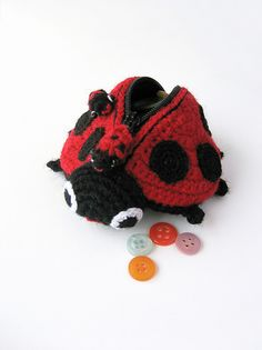 Lola The Ladybird pattern available for sale on ravelry-this is so cute
