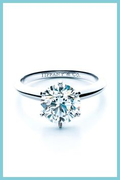 The famous Tiffany Setting diamond engagement ring....I would marry just for this <3