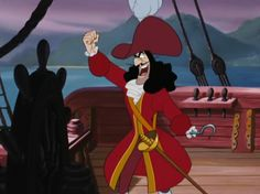 Arrrrrrrg [ah-r-g] - An expression of annoyance. Captain Hook's go-to outcry when Peter Pan escapes.