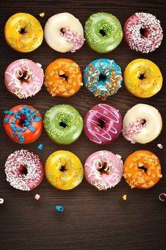 Donuts  via Tumblr on We Heart It.