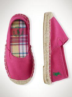 07ed97f73c9 Bowman II Espadrille - Toddler 4-10 Shoes - RalphLauren.com