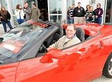 2008 Corvette Dream Giveaway Winner David Rutherford, was an unemployed construction worker when he won and received the keys to both a restored 1967 Corvette 427/435 hp   Corvette tri-power roadster and the matching Lingenfelter enhanced 2008 427/570hp Corvette Super Car. http://www.winthevettes.com.