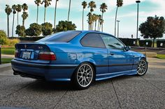 BMW E36 M3 Estoril Blue