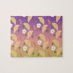 Shop Cute Breakfast Pattern and Rainbow Ombre Gradient Jigsaw Puzzle created by DreamBigDigital. Beautiful Dream, Dream Big, Nice Dream, Rainbow Background, Jigsaw Puzzles, Cute, Prints, Pattern, Design Products