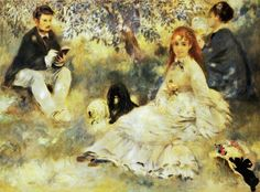 Pierre-Auguste Renoir (French Impressionist Painter, 1841-1919) The Henriot Family 1871 It's About Time: A Renoir