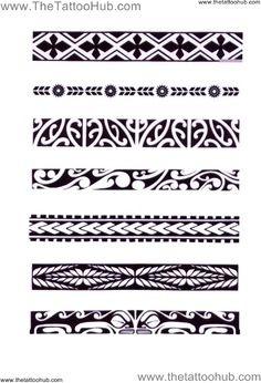 Afbeeldingsresultaat voor maori symbols and meanings tattoos Maori Band Tattoo, Maori Tattoo Frau, Band Tattoos, Samoan Tattoo, Body Art Tattoos, Sleeve Tattoos, Armband Tattoo, Symbol Tattoos, Tatoos