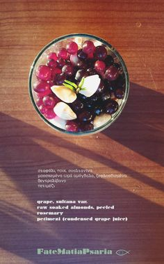 Pure delight! Grapes, almonds, rosemary and the magic factor.  #vegetarian #vegan #raw #dairyfree #glutenfree