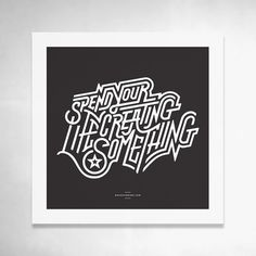 Lettering / Typography inspiration