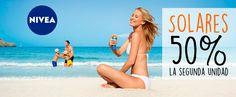 Promoción NIVEA SOLARES!!!! Disfruta de la SEGUNDA UNIDAD al 50% de Descuento! También en la tienda online