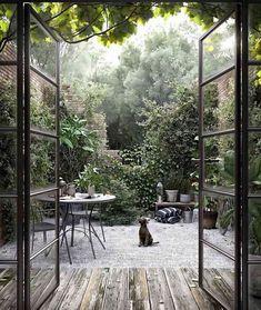 Outdoor Spaces, Outdoor Living, Outdoor Decor, Indoor Outdoor, Landscape Design, Garden Design, Dream Garden, Backyard Landscaping, Backyard Patio