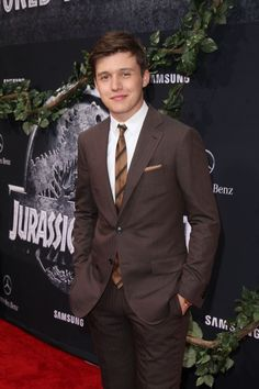 "Jun 09 | ""Jurassic World"" Los Angeles Premiere - 0027 - Nick Robinson Fan / Photo Archive"