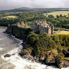 ༺✿  Culzean Castle  on the Ayrshire coast of Scotland.