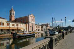 Cesenatico: canal port