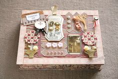 Jolee's boutique French general scrapbook | ... Jolee's Boutique, will be available in all the best craft stores