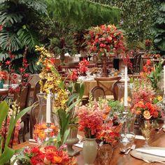 Garden wedding at Vila Rica